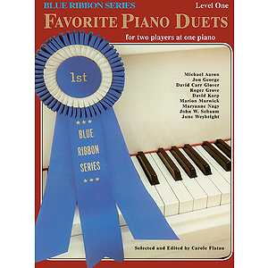 Favorite Piano Duets For Two Players At One Piano Blue Ribbon Series Level One