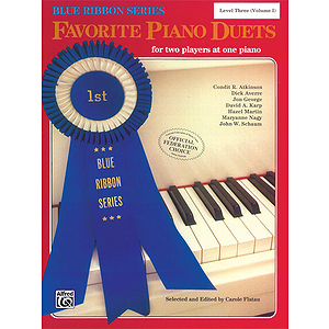 Favorite Piano Duete For Two Players At One Piano Level Three Volume I Blue Ribbon Series