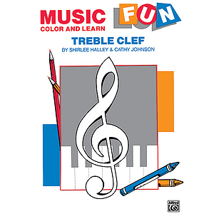 Music Fun Color And Learn Treble Clef
