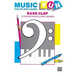 Music Fun Color And Learn Bass Clef