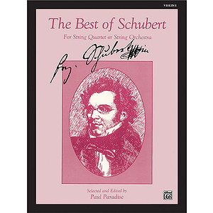 Best Of Schubert 1st Violin