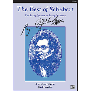 Best Of Schubert Cello