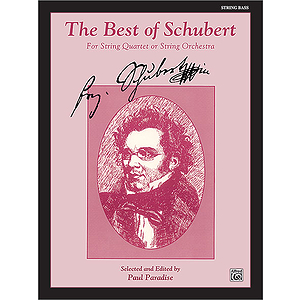 Best Of Schubert String Bass