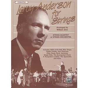 Leroy Anderson For Strings Conductor Score