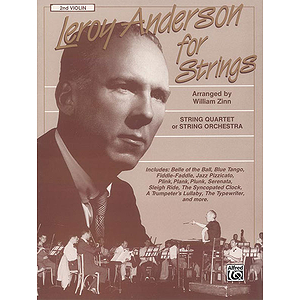 Leory Anderson For Strings 2nd Violin