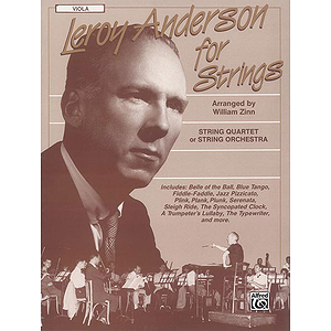 Leory Anderson For Strings Viola
