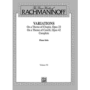Variations Complete Volume Vi The Piano Works Of Rachmaninoff