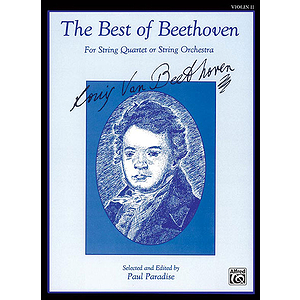 Best Of Beethoven 2nd Violin