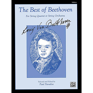 Best Of Beethoven Viola