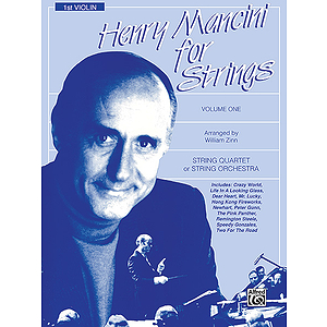 Henry Mancini For Strings Volume I 1st Violin