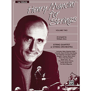 Henry Mancini For Strings Volume II 1st Violin Part