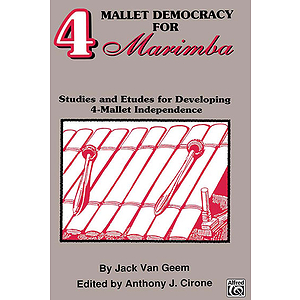 4 Mallet Democracy For Marimba