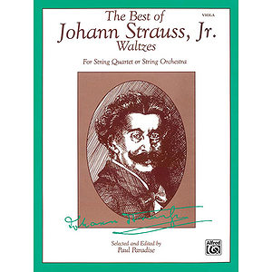 Best Of Johann Strauss Jr. Waltzes Viola