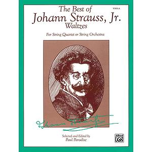 Best Of Johann Strauss Jr. Waltzes Viola