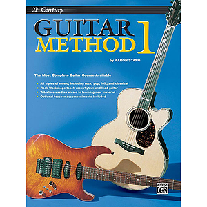 21st Century Guitar Method Level 1  Book Only