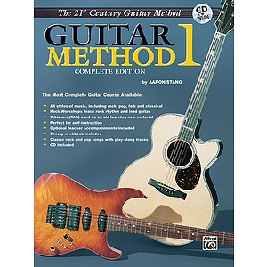 21st Century Guitar Method Level One-Book With CD