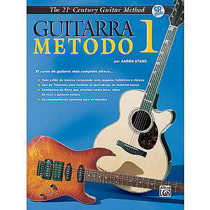 21st Century Guitar Method  Level 1  Book W/CD Spanish Edition