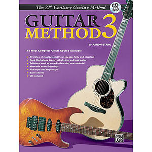21st Century Guitar Method Level 3 With CD