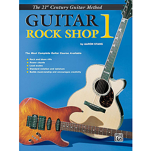 21st Century Guitar Rock Shop Level 1 Book Only
