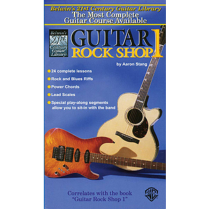 21st Century Guitar Rock Shop  Level 1  Video (VHS)