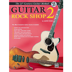 21st Century Guitar Rock Shop Level 2 With CD