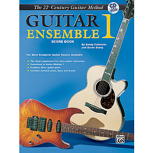 21st Century Guitar Ensemble Level 1 Score With CD