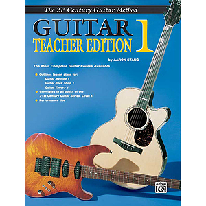 21st Century Guitar  Teacher's Edition 1
