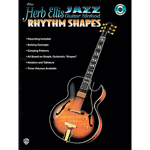 Herb Ellis Jazz Guitar Method: Rhythm Shapes Book/CD