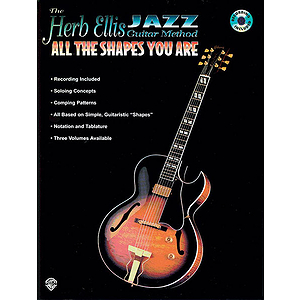 Herb Ellis Jazz Guitar Method: All The Shapes You Are Book/CD