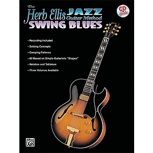 Herb Ellis Jazz Guitar Method: Swing Blues BK/CD