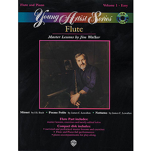 Young Artist Series Volume I Flute Easy Book And CD