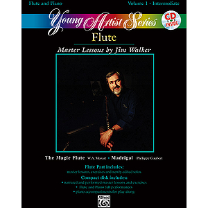 Young Artist Series Volume I Flute Intermediate Book And CD