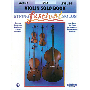 String Festival Solos Volume I (Level 1-2) Violin Solo Book