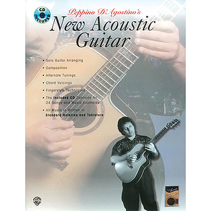 New Acoustic Guitar BK/CD