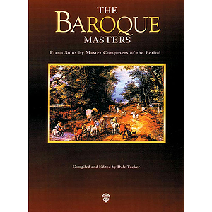 Baroque Masters Piano Masters Series