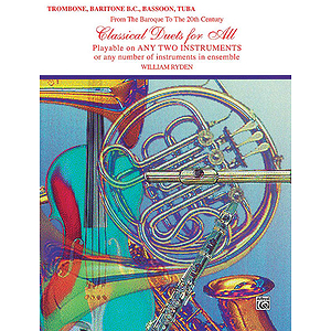 Classical Duets For All (Trombone Baritone B.c. Bassoon Tuba