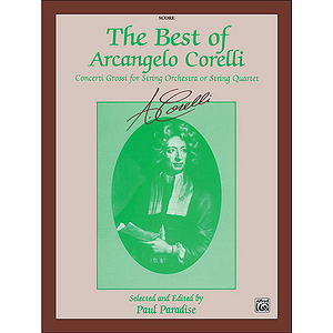 Best Of Arcangelo Corelli Score