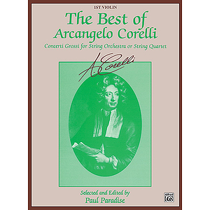 Best Of Arcangelo Corelli 1st Violin
