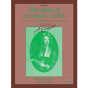 Best Of Arcangelo Corelli 2nd Violin