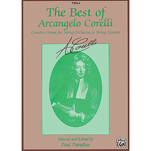 Best Of Arcangelo Corelli Viola
