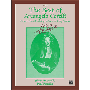 Best Of Arcangelo Corelli String Bass