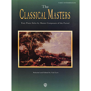 The Classical Masters Easy Piano Solos By Master Composers Of The Period