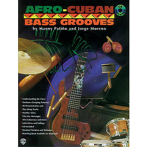 Afro-Cuban Bass Grooves Book/CD