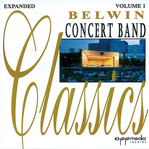 Belwin Concert Band Classics Volume 1 CD Only (Expanded)