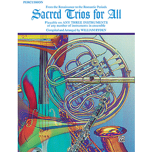 Sacred Trios For All (Percussion)