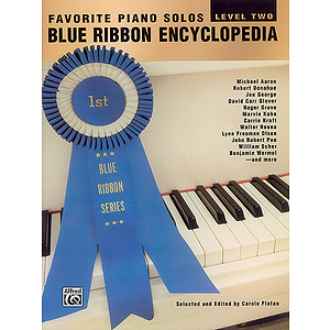 Blue Ribbon Encyclopedia Favorite Piano Solos Level Two