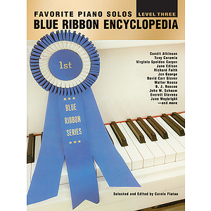 Blue Ribbon Encyclopedia Favorite Piano Solos Level Three
