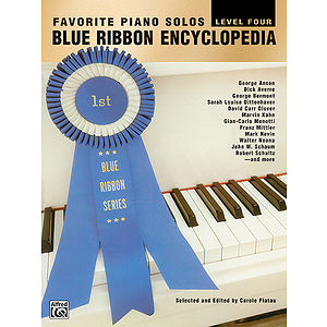 Blue Ribbon Encycopedia Favorite Piano Solos Level Four