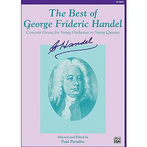 Best Of Handel Score
