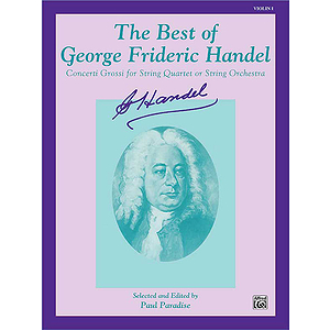 Best Of Handel 1st Violin